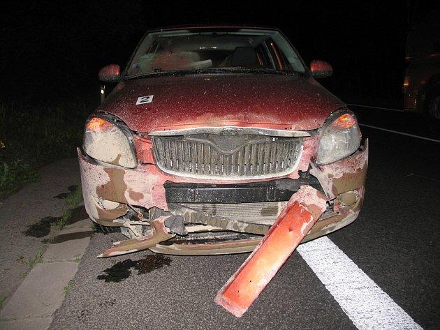 Divočák nepřežil srážku s autem.