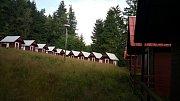 Opuštěný areál někdejšího pionýrského tábora TD ČSD Česká Třebová u Klášterce nad Orlicí. Foto: Deník/Jiří Šmeral