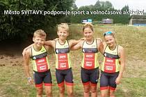 Mladí závodníci pracují ve svitavském klubu pod vedením kvalifikovaných trenérů a sbírají svoje první medailové úspěchy.