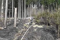 Hasiči museli likvidovat požáry při pálení