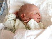 MATĚJ POSPÍŠIL. Chlapeček spatřil světlo světa 16. dubna ve Svitavské nemocnici. Sestřičky mu po narození navážily 2,9 kilogramu a naměřily 48 centimetrů. Doma v Linharticích se na brášku těší také třiapůlletá sestřička Iva.