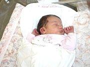 TEREZA JÍLKOVÁ. Holčička spatřila světlo světa 2. března v 11. 46 hodin ve Svitavské nemocnici. Sestřičky jí navážily 3,58 kilogramu a naměřily půl metru. Šťastní rodiče si svou dceru odvezou do Poličky.