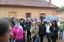 Školáci z Jaroměřic se zúčastnili Terezínské tryzny.