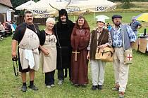 Milovníci guláše se o víkendu sešli už na třetím ročníku Hraničského kotlíku ve Vranové Lhotě.