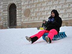 Zážitky s prvním sněhem.