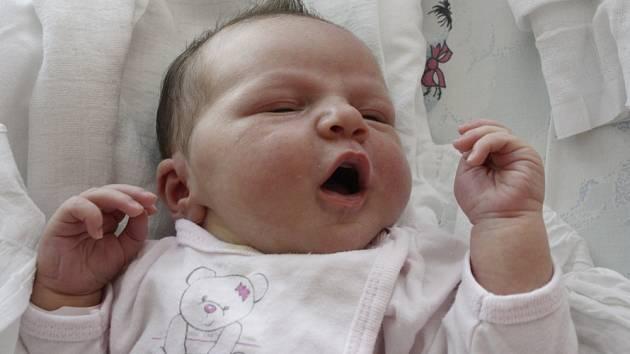 EMÍLIE BERÁNKOVÁ. Narodila se 4. srpna  Monice Vrbové a Michalovi Beránkovi z Jevíčka.