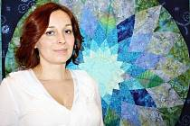Klára Beránková v současnosti působí jako předsedkyně Spolku patchvorku Litomyšl. Na výstavě mimo jiné prezentuje například dílo Rozkvetlá planeta.