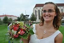 Květinová show v Klášterních zahradách v Litomyšli.