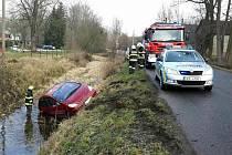 Nehoda v Čisté.