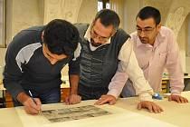 Specialisté z Iráku se školili u restaurátorů v Litomyšli.