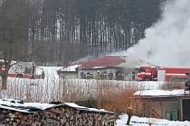 Z požáru domu