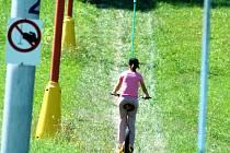 Ilustrační foto: Svahy sjezdovek mohli lidé v létě využít k jízdě na koloběžkách nebo tříkolkách.