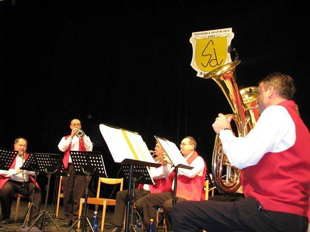 Výroční koncert Svitavské dvanáctky ve Fabrice