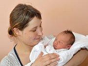 MARIE BIDMONOVÁ. Narodila se 1. dubna Kateřině a Ondřejovi z Borové u Poličky. Měřila 51 centimetrů a vážila 3,3 kilogramu.