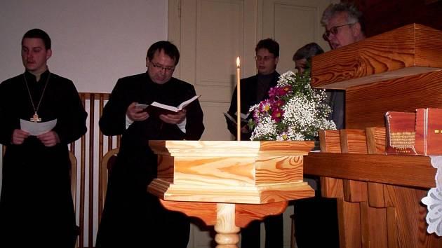 Ekumenická bohoslužba ve Svitavách.
