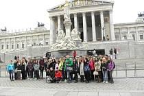 Gymnazisté z Jevíčka si užili Vídeň