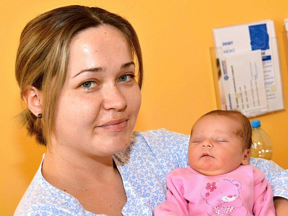 ROZÁLIE OLIVOVÁ. Narodila se 7. března Vandě a Martinovi z Cerekvice nad Loučnou. Měřila 48 centimetrů a vážila 2,72 kilogramu. Má sestru Natálii.