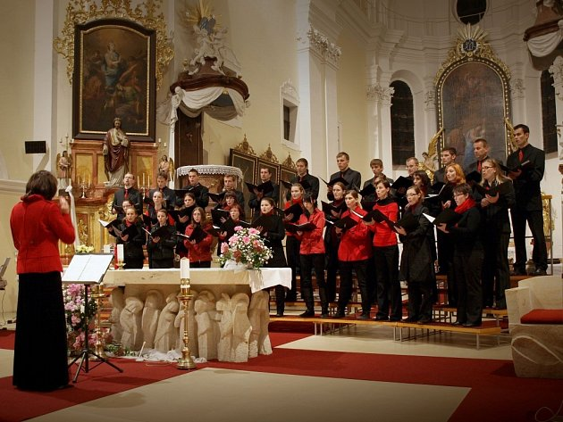 Koncert v kostele Navštívení Panny Marie