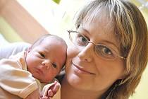 MONIKA  MYŠKOVÁ.  Manželé Blanka a Richard se od 2. září radují z druhé dcerky. Monika se jim narodila v 7.37 hodin  v Litomyšlské nemocnici. Vážila 2,6 kilogramu a měřila 48 centimetrů. S tříletou sestřičkou Veronikou bude vyrůstat v Ostrově.