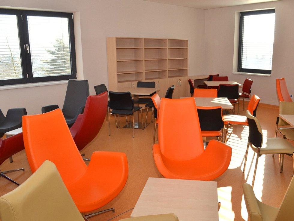 Slavnostní otevření nových prostor psychiatrického oddělení Svitavské nemocnice.