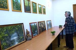 Výstava Jany Svobodové v Bělé nad Svitavou.