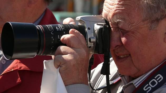 Moravskotřebovský fotograf Rudolf Zukal.