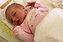 ANETA FIŠMISTROVÁ přišla na svět 20. března v 11.40 hodin. Vážila 2,9 kilogramu a měřila 50 centimetrů. Potěšila rodiče Kateřinu a Petra i sourozence Alici a Martina.