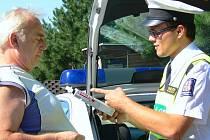 Policejní akce  v Litomyšli