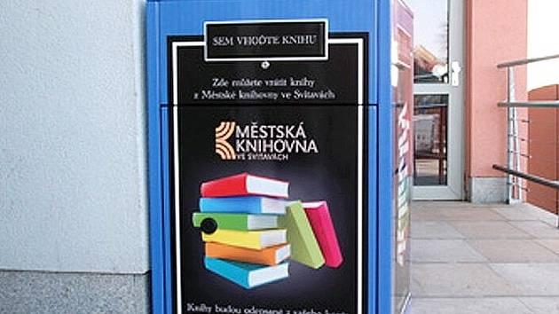 Městská knihovna si pořídila bibliobox.