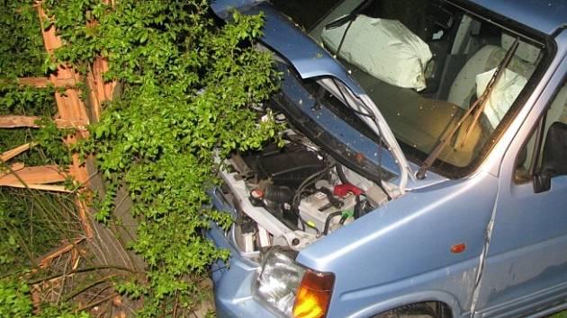 Řidička se nevěnovala řízení.