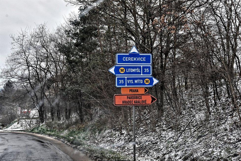 Začala oprava hlavního tahu I/35  platí mezi Litomyšlí a Vysokým Mýtem. Rekonstrukce potrvá do června.