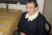 Marie Talandová z Poličky pamatuje časy císaře Franze Josefa i obě světové války. V červenci oslaví nejstarší občanka města 99 let.