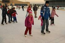 Zimní stadion ve Svitavách.