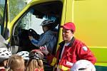 Den bezpečnosti a cyklistiky.