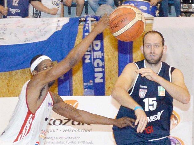 Dekstone Tuři Svitavy vs. BK Armex Děčín 84:69 (6. čtvrtfinále).