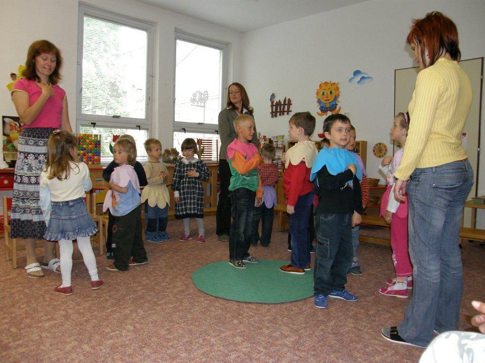 Besídka ve speciální školce ve Svitavách.