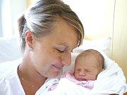 NATÁLKA COUFALOVÁ. Do Osíku u Litomyšle si odvezou šťastní rodiče Markéta a Petr svoji dcerušku. Narodila se 21. srpna ve 2.27 hodin. Vážila 2,7 kilogramu a měřila půl metru.