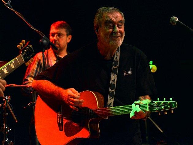 Koncert Michala Prokopa v Litomyšli.