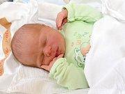SAMUEL ANDRLÍK. Narodil se 26. srpna Martině a Michalovi z Poličky. Měřil 51 centimetrů a vážil 3,9 kilogramu. Má sestru Izabel.