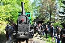 První jízda letošní turistické sezony v Mladějově.