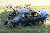 Dopravní nehoda u Janova 16. dubna 2009