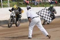 Poslední letošní akcí v areálu v Cihelně bude mistrovství republiky ve flat tracku, které se tam uskuteční v sobotu 21. září.