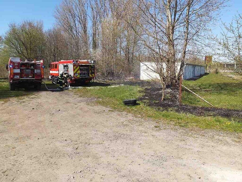 Aktuálně, včera a dnes likvidované požáry v kraji.