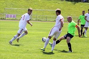 Jiskra Litomyšl vs. SK FK Horní Ředice.