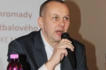 Předseda Pardubického krajského fotbalového svazu Michal Blaschke.