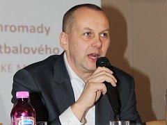 Staronový předseda Pardubického krajského fotbalového svazu Michal Blaschke.