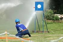 První prázdninová sobota patří již pravidelně v seriálu Svitavské ligy v požárním útoku závodu v Hartmanicích.