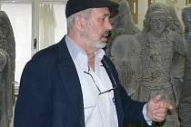 Děkan Fakulty restaurování a konzervačních technik Jiří Novotný.