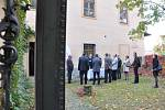 Poklepáním na základní kámen  začala včera rekonstrukce muzea v Litomyšli.