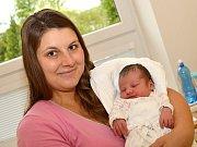 NELA DVOŘÁKOVÁ. Narodila se 23. července Anetě a Jiřímu z Jedlové. Měřila 48 centimetrů a vážila 3,1 kilogramu.